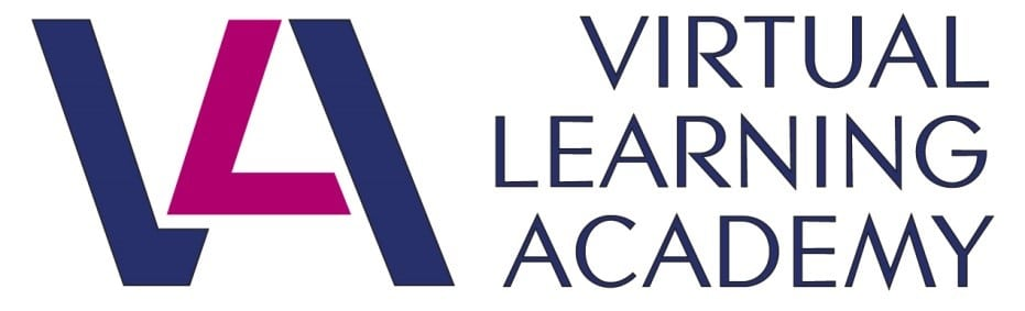 virtual learning academy logo
