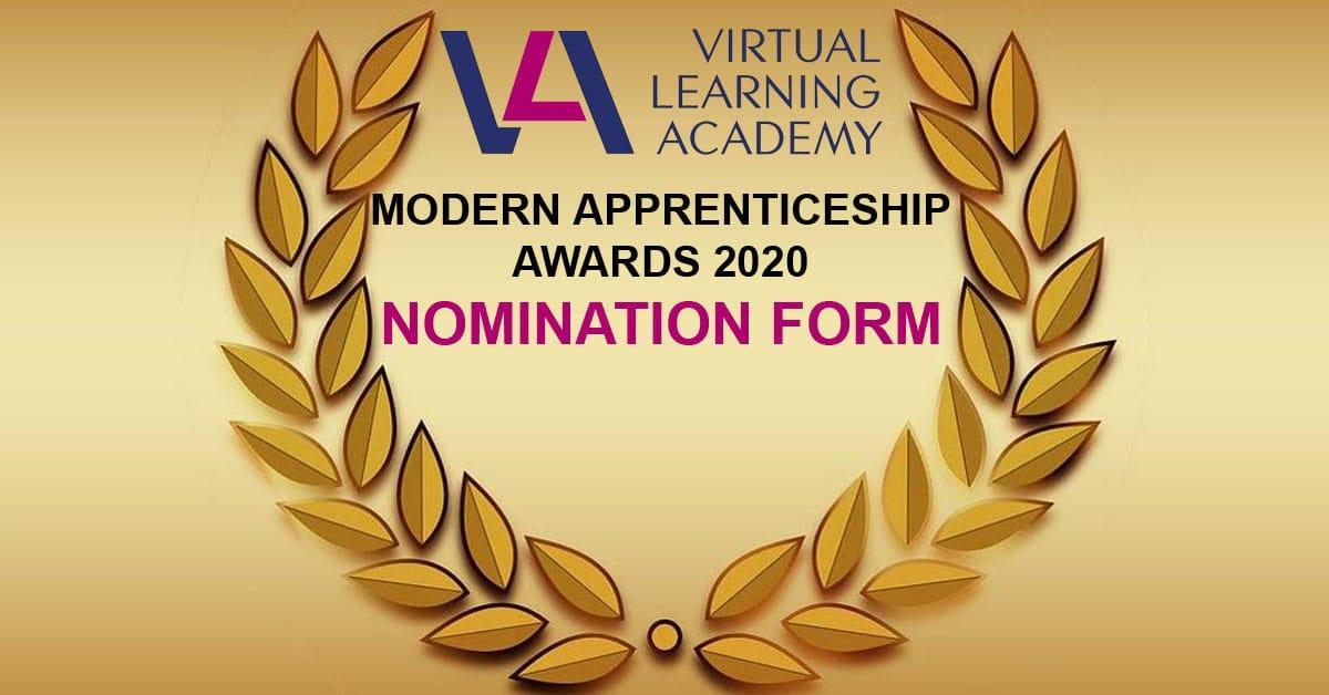 VLA-Modern-Apprenticeship-Awards-2020 Nomination Form