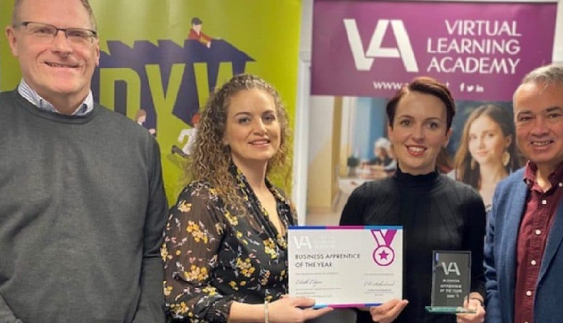 VLA Business Apprentice of the Year 2020 Eilidh Edgar DYW