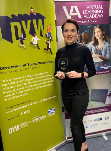 VLA Business Apprentice of the Year 2020 Eilidh Edgar