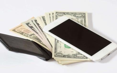 money wallet phone